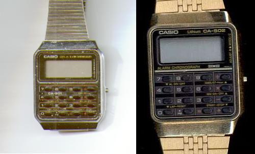Reloj calculadora Casio de taxista