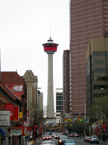Calgary Tower Center Street