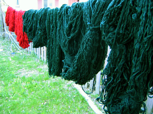 Washed Yarn