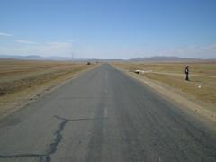 Road to Erdenet