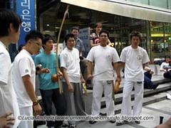 Capoeira versão Coréia