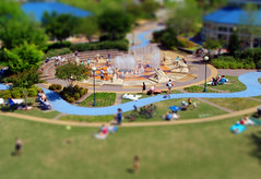 Fake Tilt-Shift of Coolidge Park