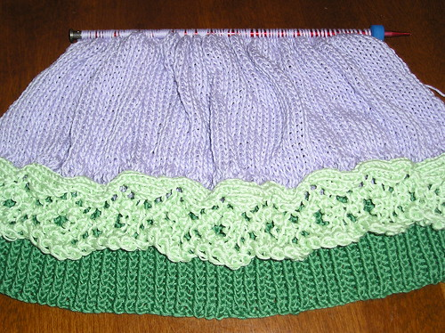 U-Neck Top in Progress