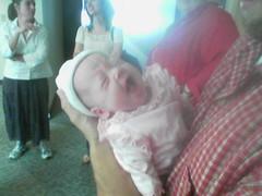 Alexis Behnken yawns
