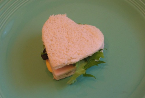 a hearty sandwich