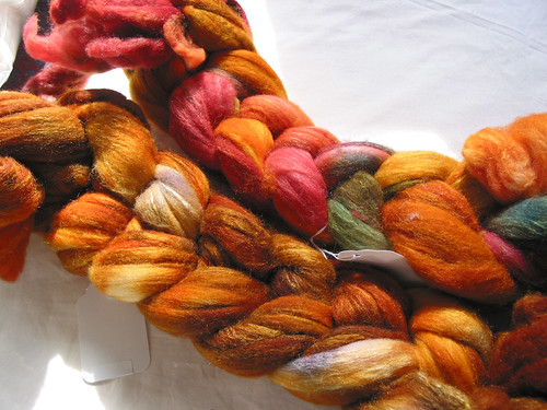 Cloverleaf Farms, merino/silk