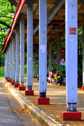 Covered Walk Posts