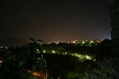 Night panorama from the tower