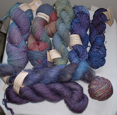 Wool in the Woods, new stash additions