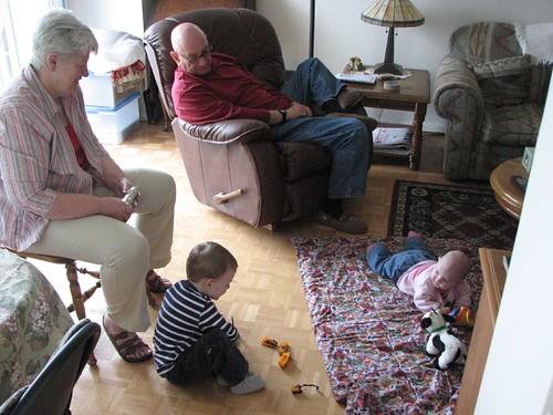 Grandfolks & kids