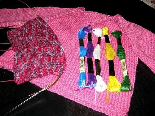 i've been knitting!