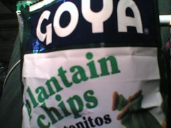 Plantain Chips Taste Test::Goya