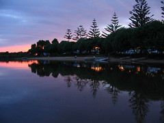 Sunset on the Brunswick River