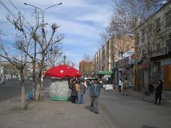 On the Enkh-taiwan street