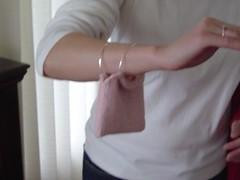 Bride's bangle bag