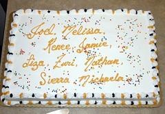 Cake for 2006 graduates