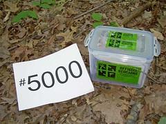 Geocache #5000