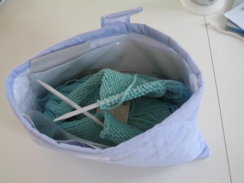 le sac à chaussette rempli