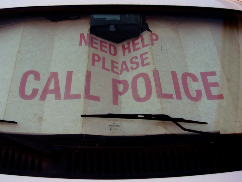 please call police