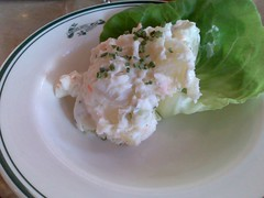 A side of potato salad