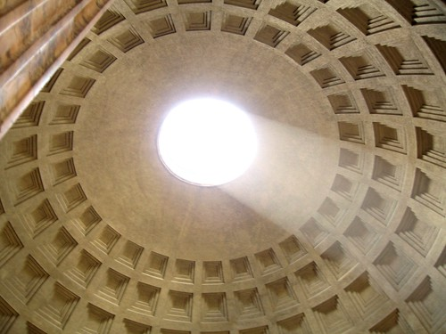 Oculus in the Pantheon