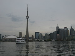The obligatory cliche shot of the Toronto skyline