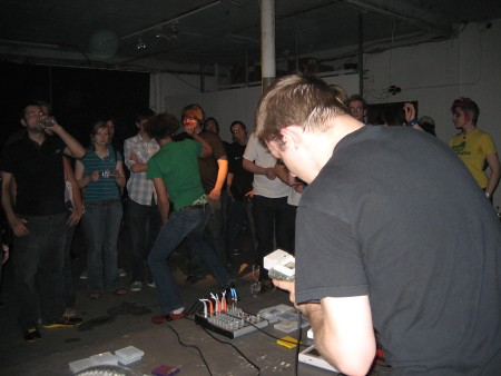 Bitshifter at Dorkbot