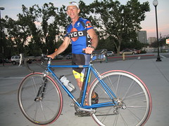 Dave and his Co Motion bicycle