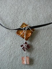 Brown pendant