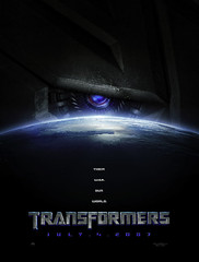 "Teaser poster de ""Transformers"""