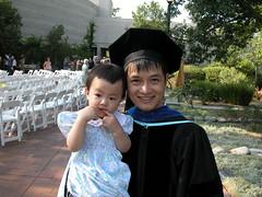 爸爸毕业了~~~