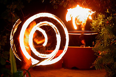 """Magic Happens"" - Fire Dancers in Goa photo by Anindo Ghosh"
