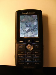 Google Mobile Maps on my K750i