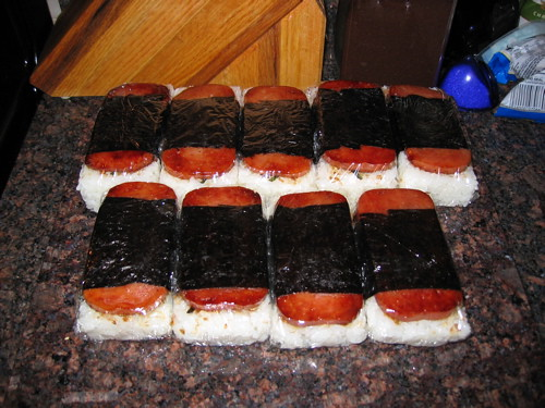 how to cook spam musubi