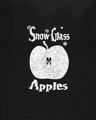 Snow Glass Apples