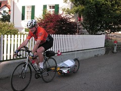 Vor dem Start zum Swiss Border Ride 2006