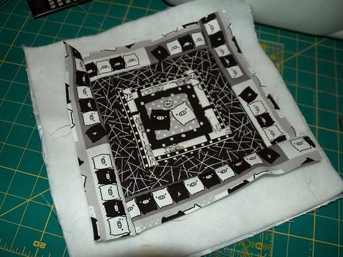 piggie quilt square