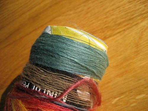 Chasing Rainbows Dyeworks silk/merino