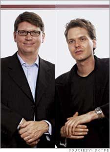 skype_Janus Friis and Niklas Zennström