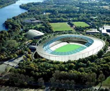 ورزشگاه هانوور آلمان