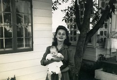 Mom and Rog, 1944