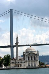 Ortaköy mosque - Bosporus bridge