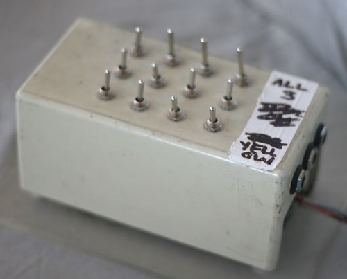 3 to 3 mechanical sequencer