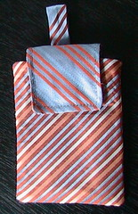 silk tie ipod case