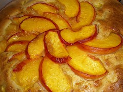 Chef Tami's Easy Peach Cake!