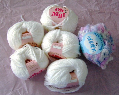 Yarn for a baby cardigan from Only Ewe