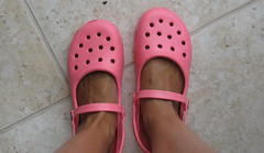 mary jane crocs