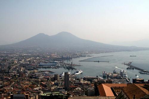 Vesuvio from Castel Sant'Elmo