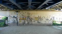 Graffiti @ 舟渡大橋