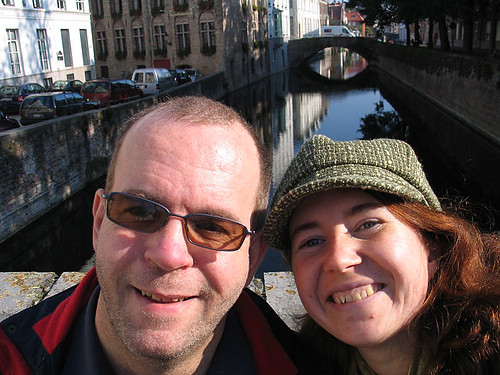 K and me in Brugge